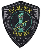 """Semper Gumby"" - Always Flexable Tactical Embroidered Morale Patch"