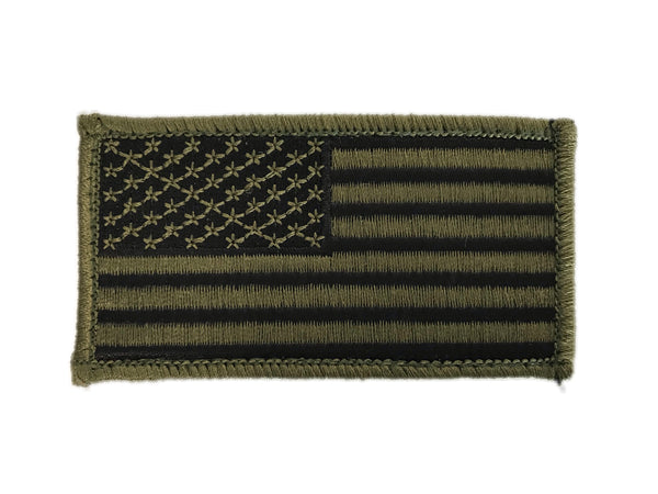American Flag Embroidered Morale Patch - F-Bomb Morale Gear