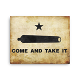 "Come and Take It - 16""x20"" Canvas Print"