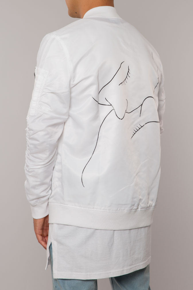 COUPLE LOVER WHITE JACKET