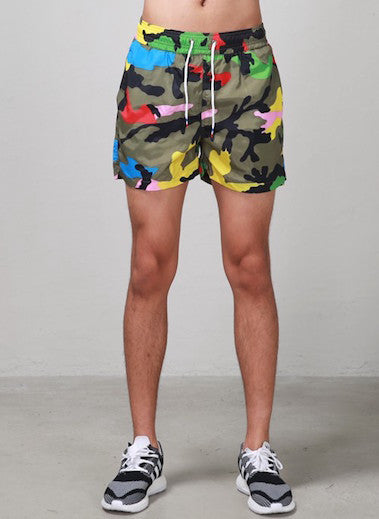Camouflage Colored Short