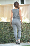 Easy Gray Jumpsuit
