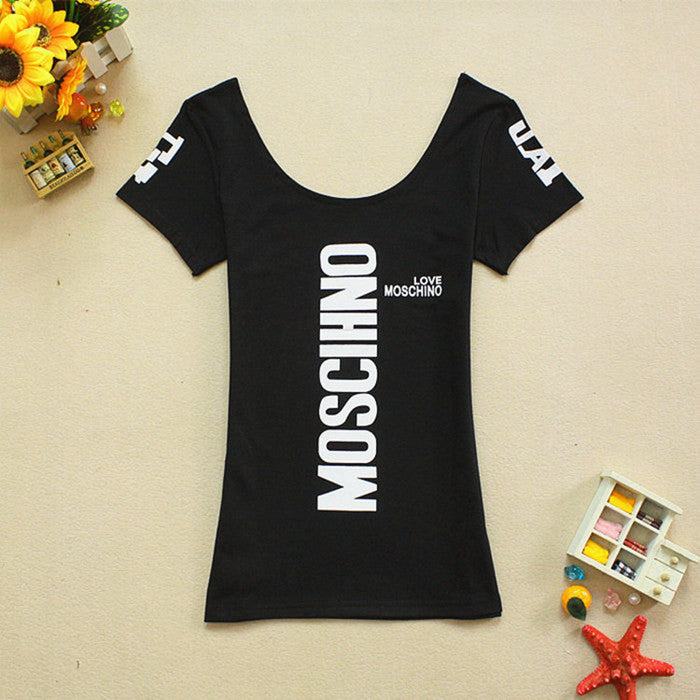 Love Moschino 4 colors T-shirt