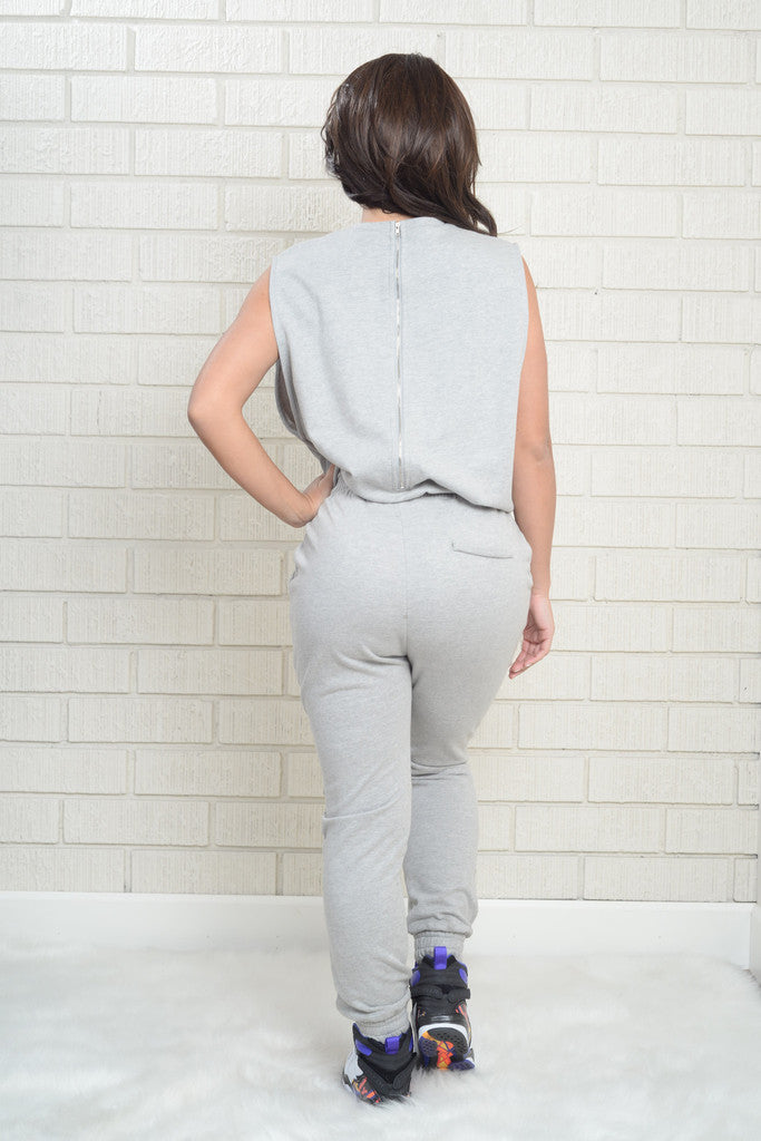 NYC Zipper Jumpsuit