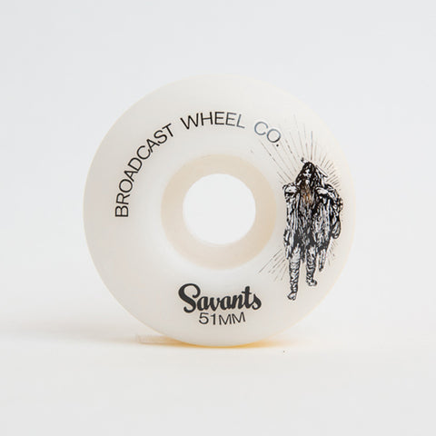 Broadcast Wheels 51mm Savants Wheel