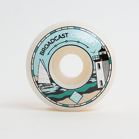 Broadcast Wheels 52mm Kevin Coakleys Choice Pro Wheel - 101A