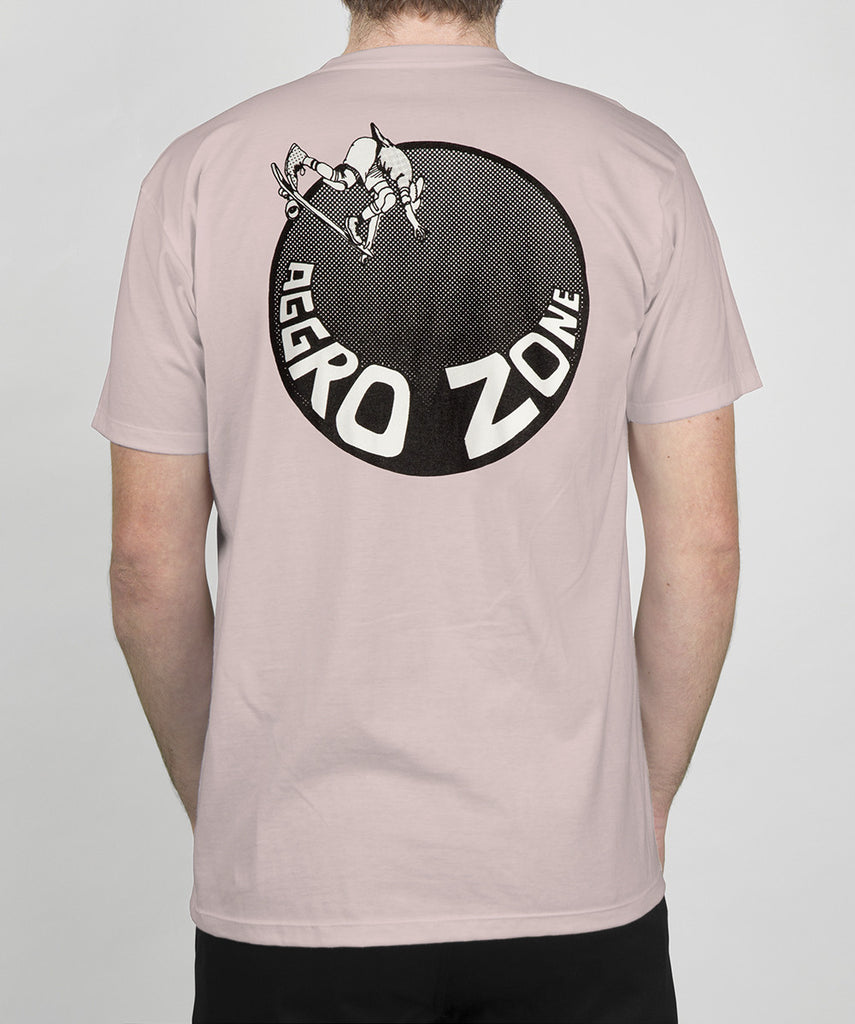 TransWorld Aggro Zone T-Shirt - Pink