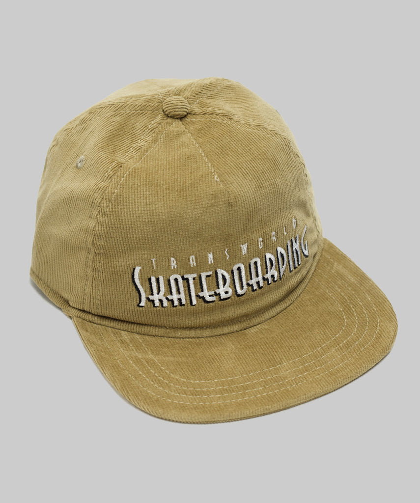 TransWorld Shadow Skateboarding Hat - Corduroy