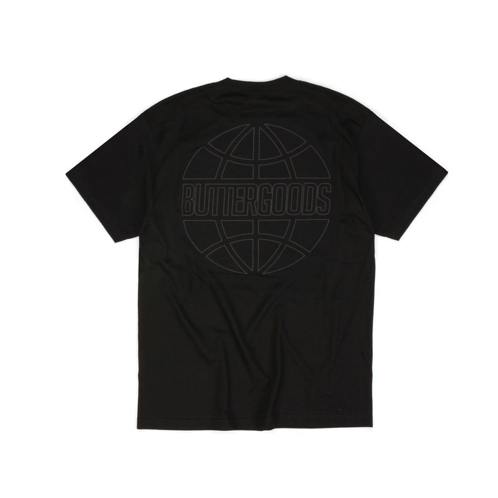 Butter Goods Reflective Outline T-shirt - Black