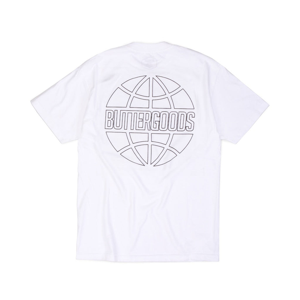 Butter Goods Reflective Outline T-shirt - White