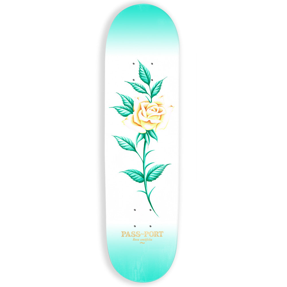 Passport Attractive Floral Rosa Skateboard Deck