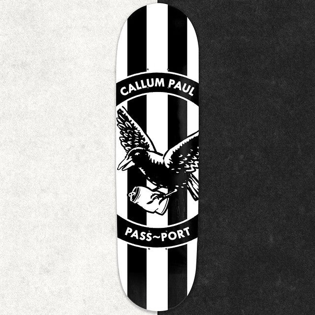 Passport Skateboards Callum Paul Maggies Pro Deck