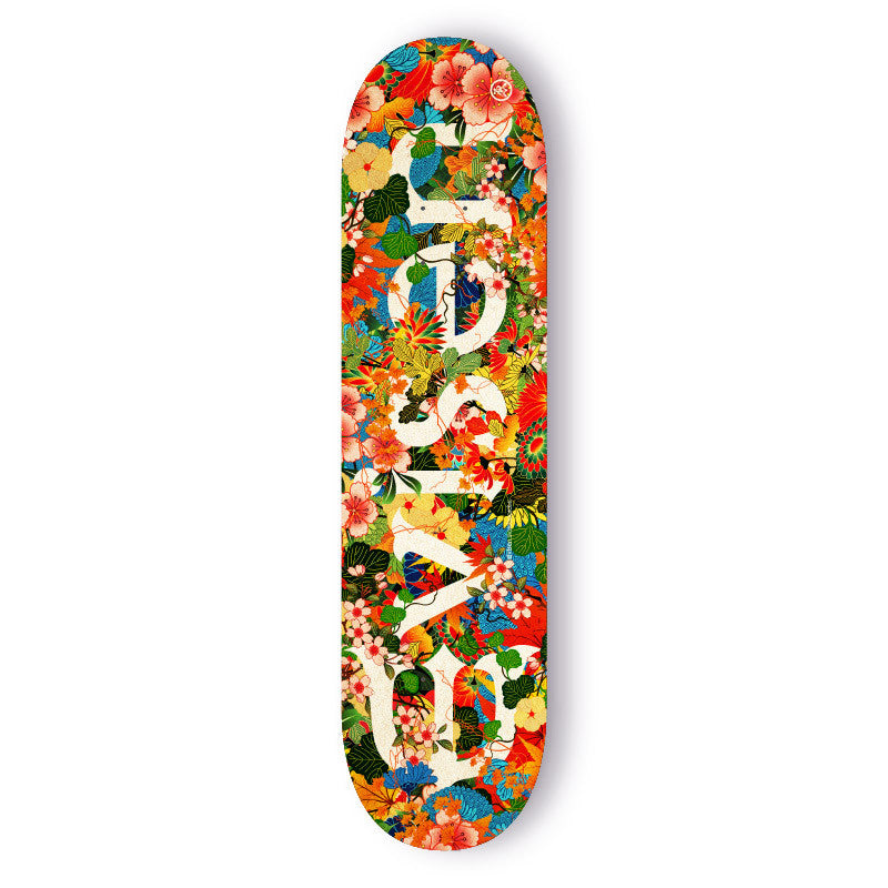 Evisen Jungle Logo Skateboard Deck