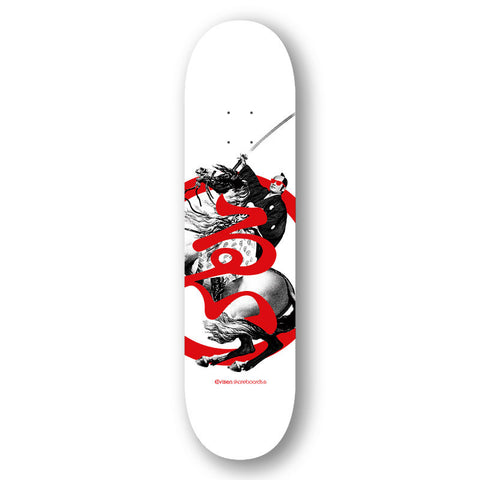 Evisen Skateboards Shogun Series (White) Deck