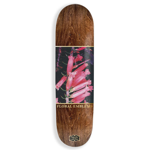 Pass Port Callum Paul Floral Emblems Skateboard Deck