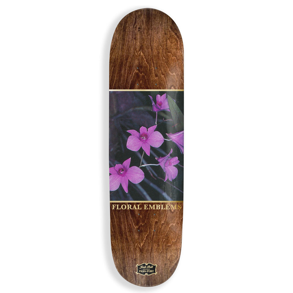 Pass Port Josh Pall Floral Emblems Skateboard Deck