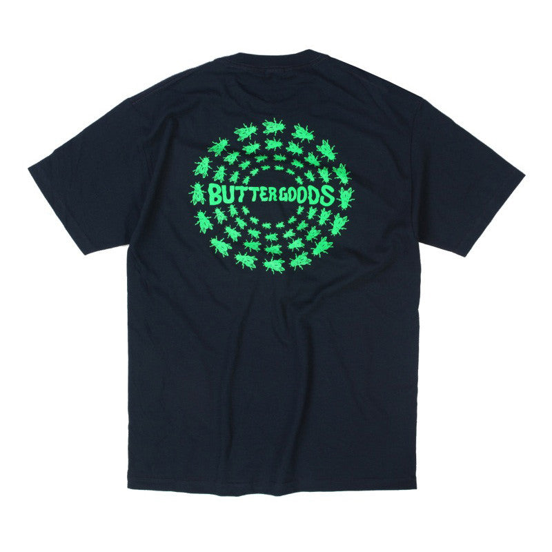 Butter Goods Swarm T-Shirt - Navy