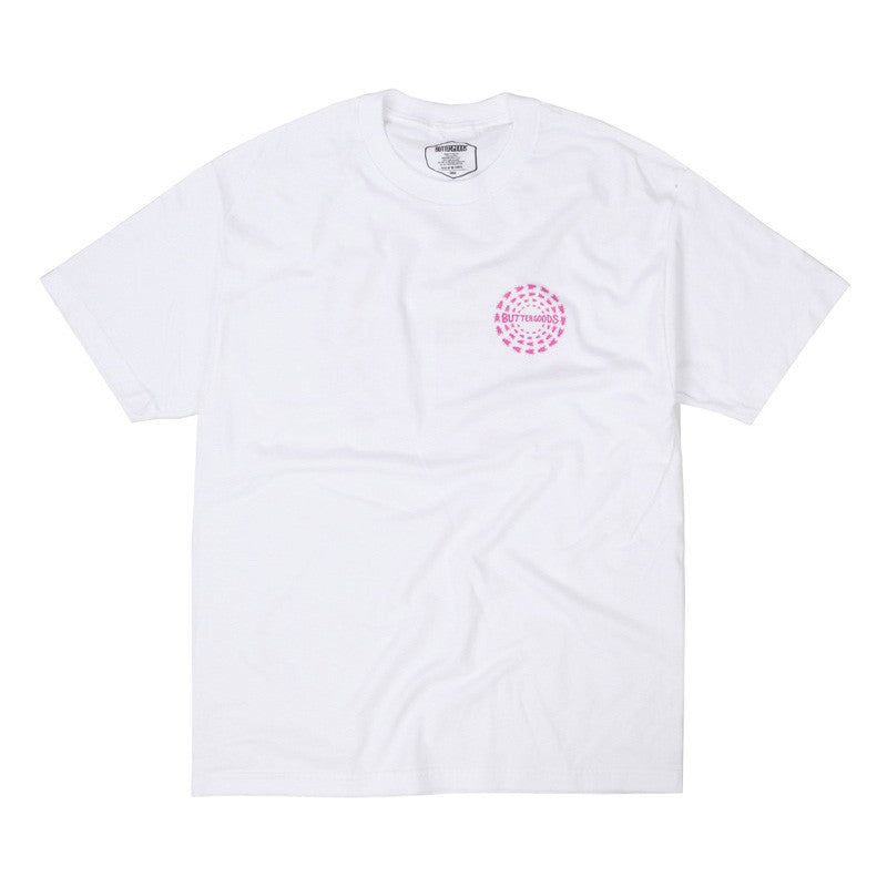 Butter Goods Swarm T-Shirt - White
