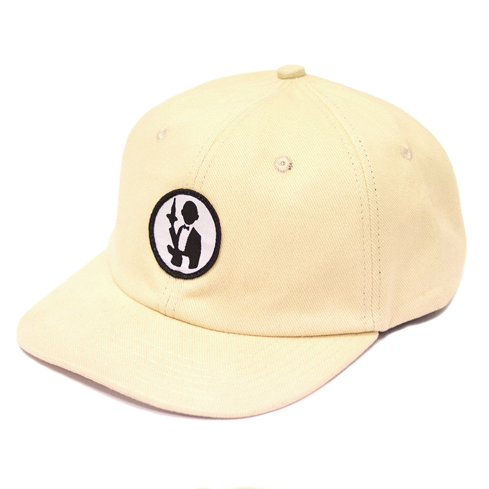 Passport No Service 6 Panel Strapback Cap - Cream