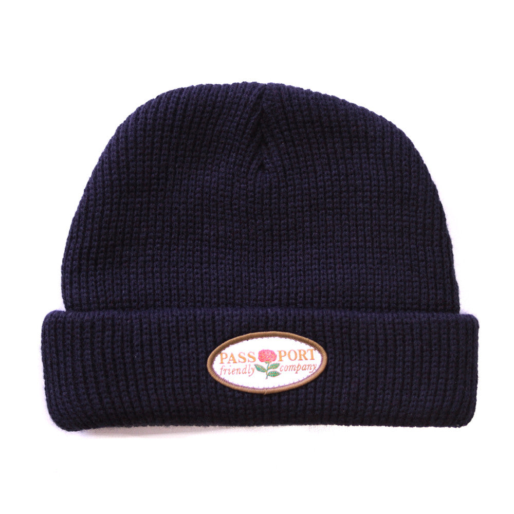 Passport Friendly Company Beanie - Navy