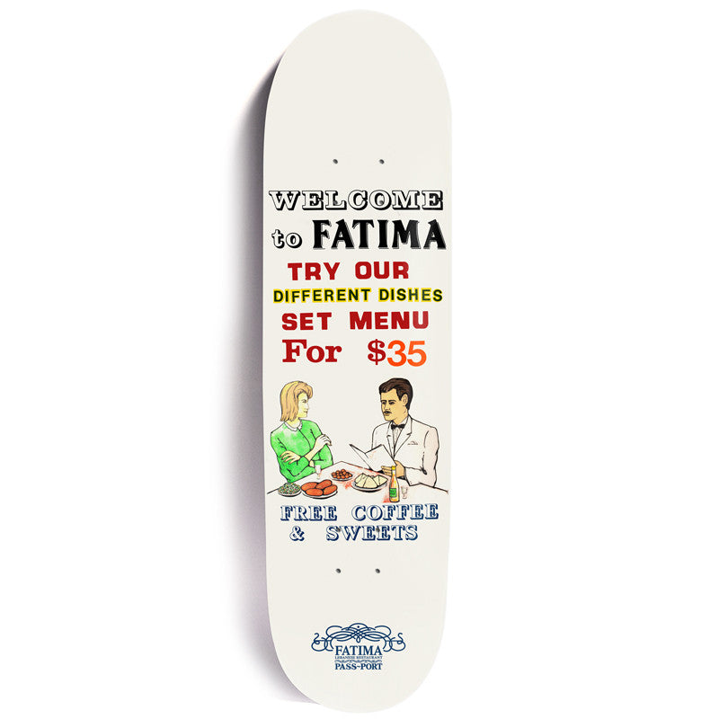 Passport X Fatimas Welcome Skateboard Deck