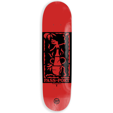 Passport Genie Bottle Pearls Skateboard Deck