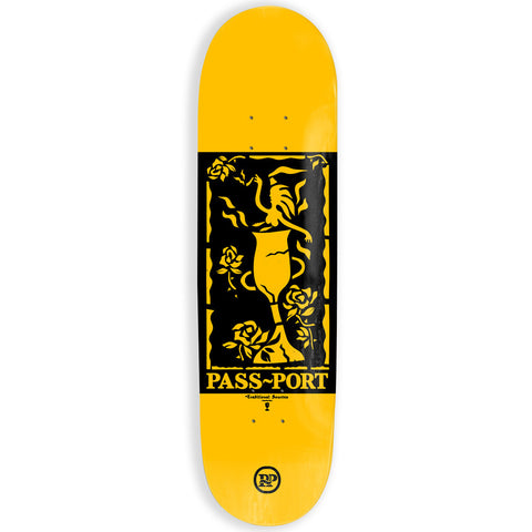 Passport Genie Bottle Roses Skateboard Deck