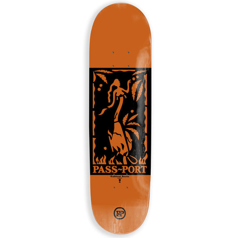 Passport Genie Bottle Heated Skateboard Deck