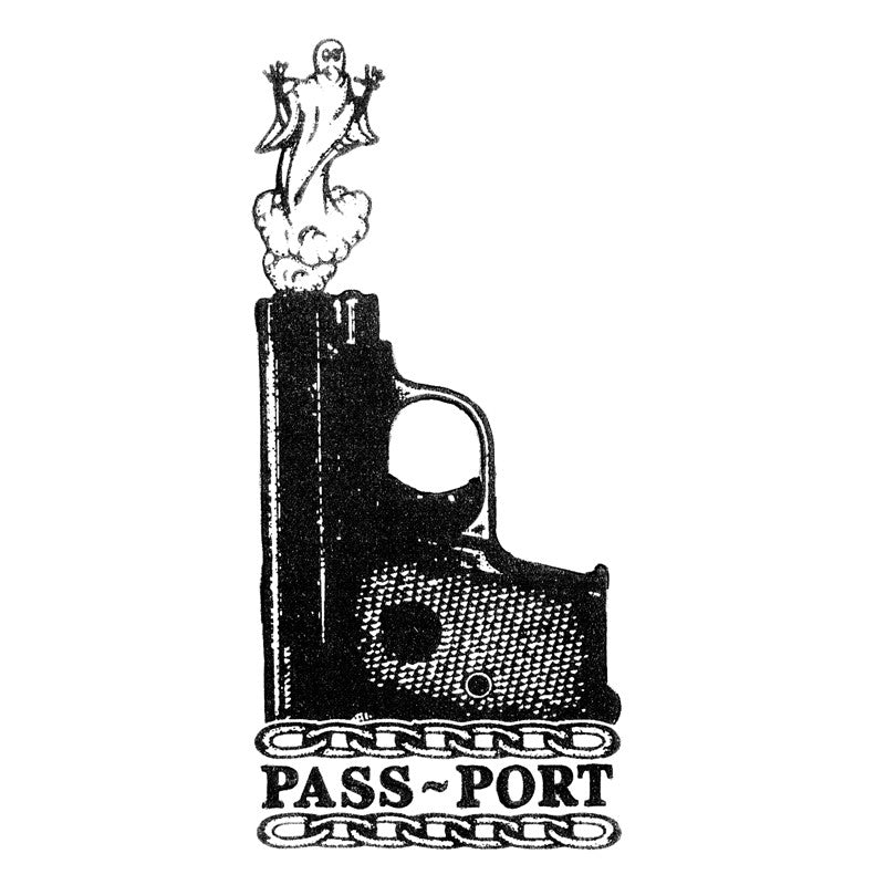 Pass Port Ghost Shots T-Shirt - Black