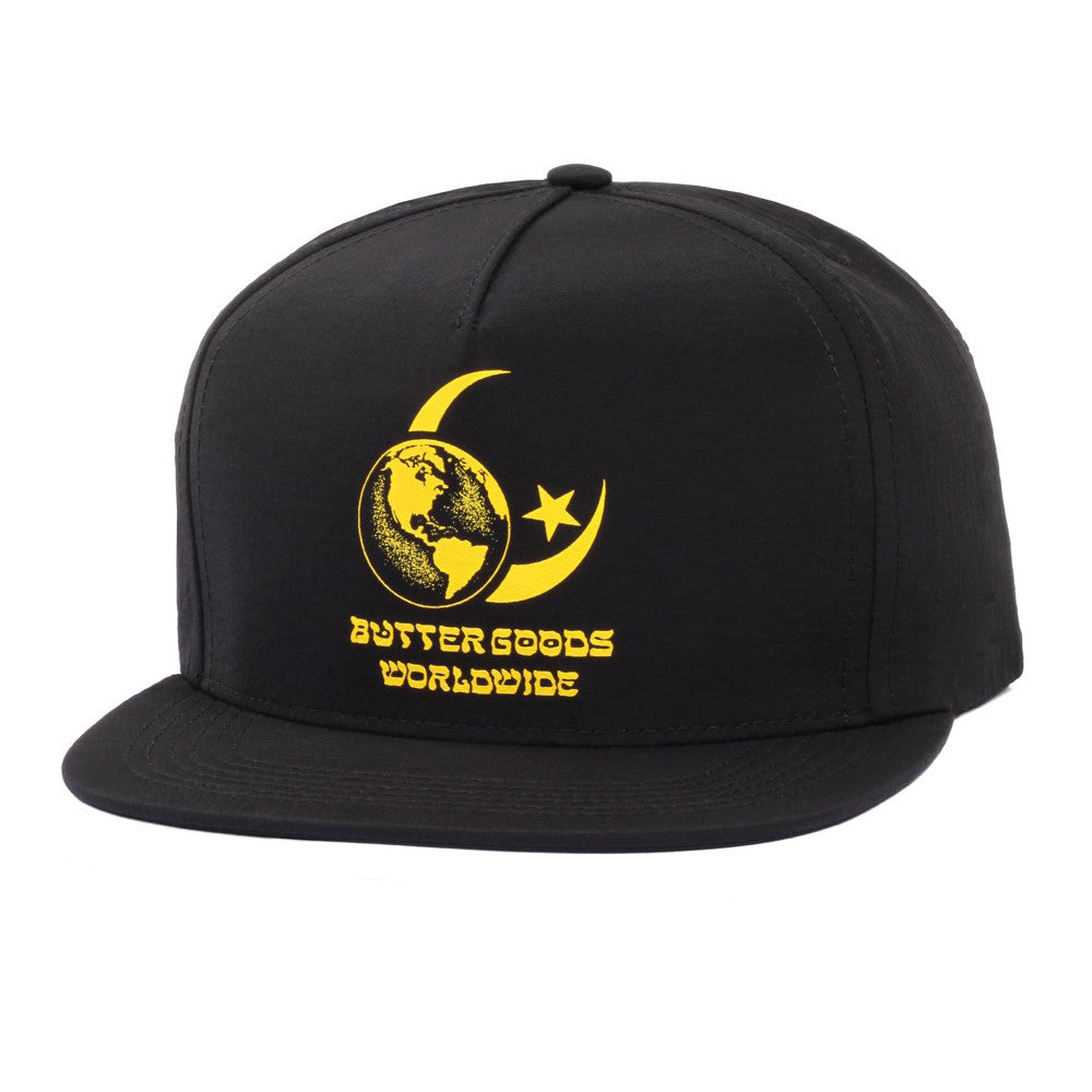 Butter Goods Crescent Snapback Cap - Black