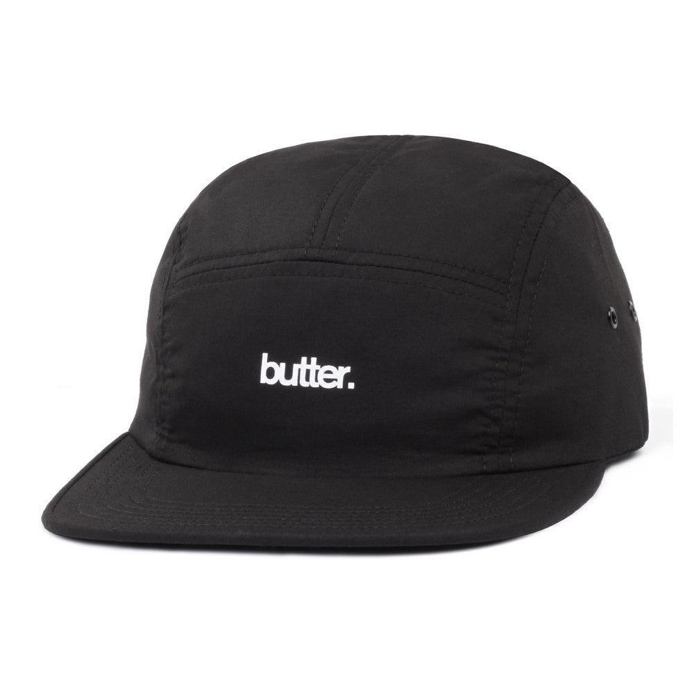 Butter Goods Minimal OG Logo Camp Cap - Black