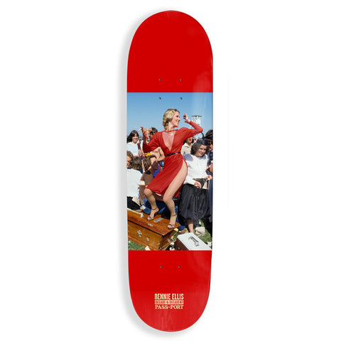 Passport x Rennie Lady In Red Skateboard Deck