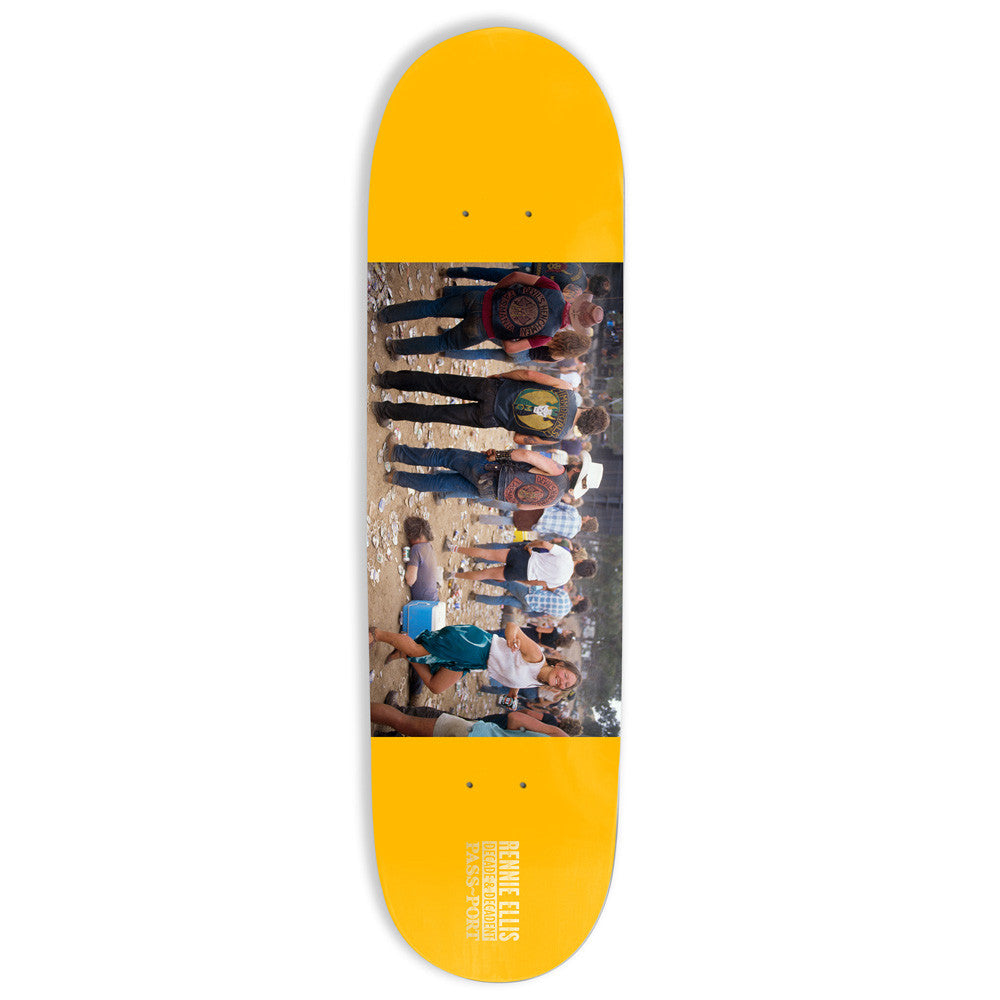 Passport x Rennie Face Down Skateboard Deck