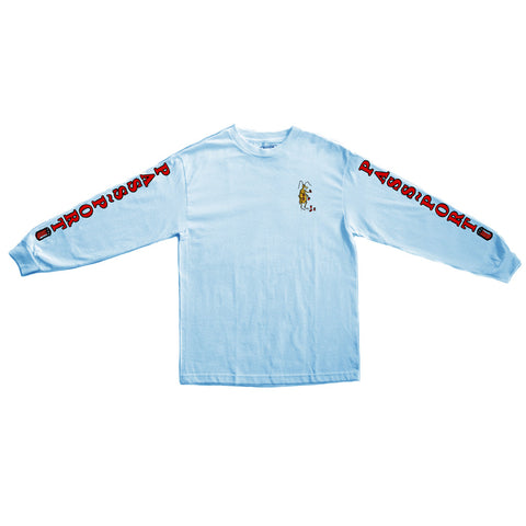 Passport Roach Cans Longsleeve T-shirt - Blue