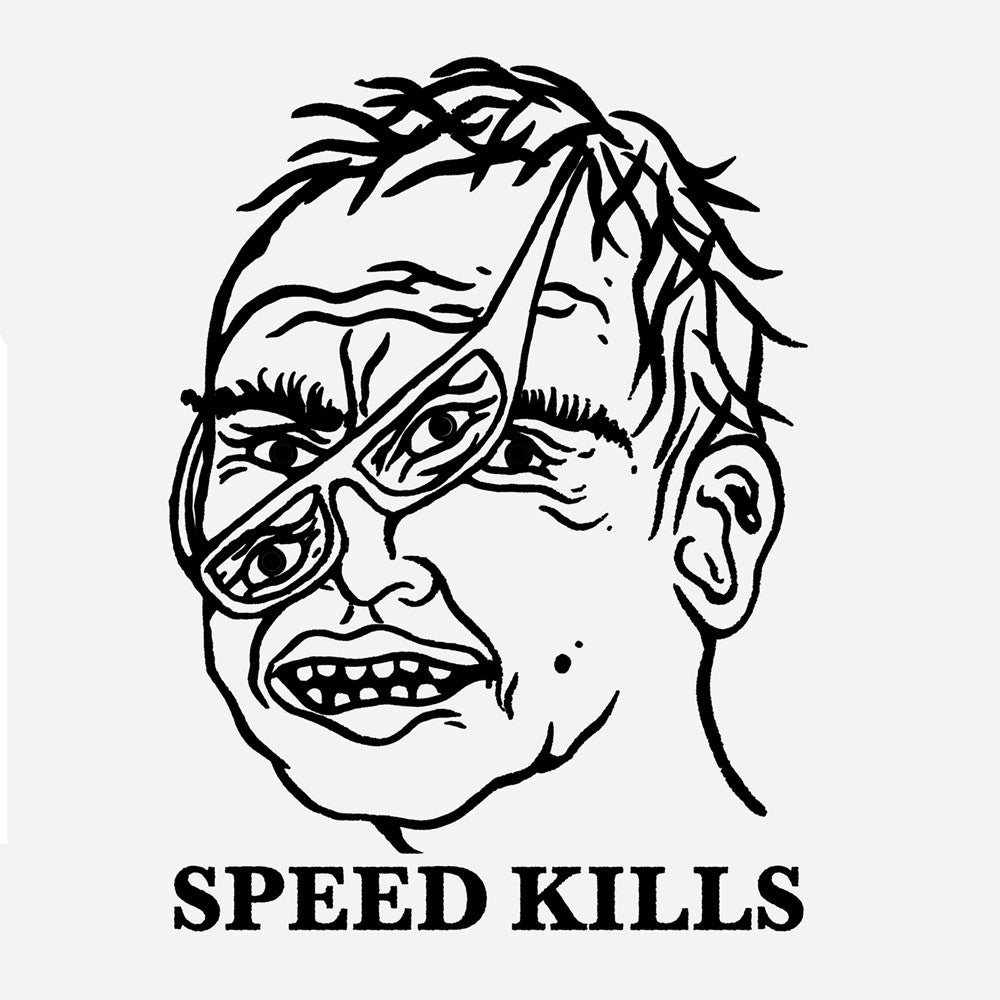 Pass Port Speed Kills T-Shirt - White