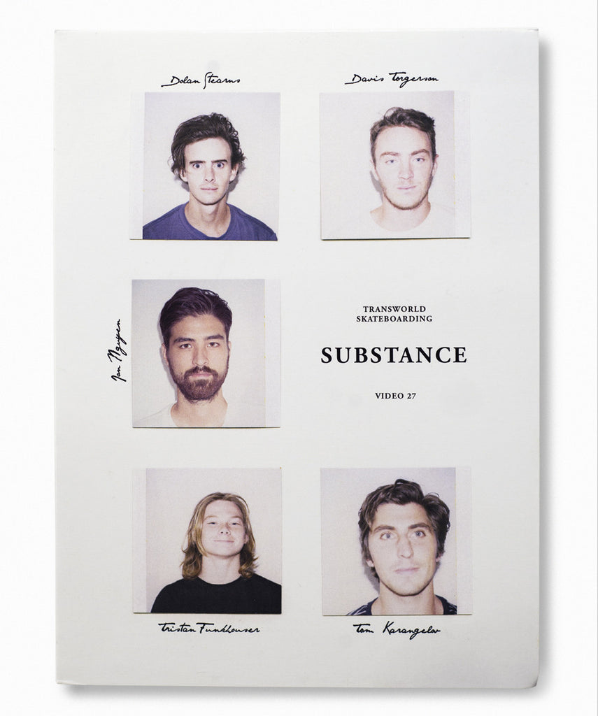 Transworld SKATEboarding Substance DVD