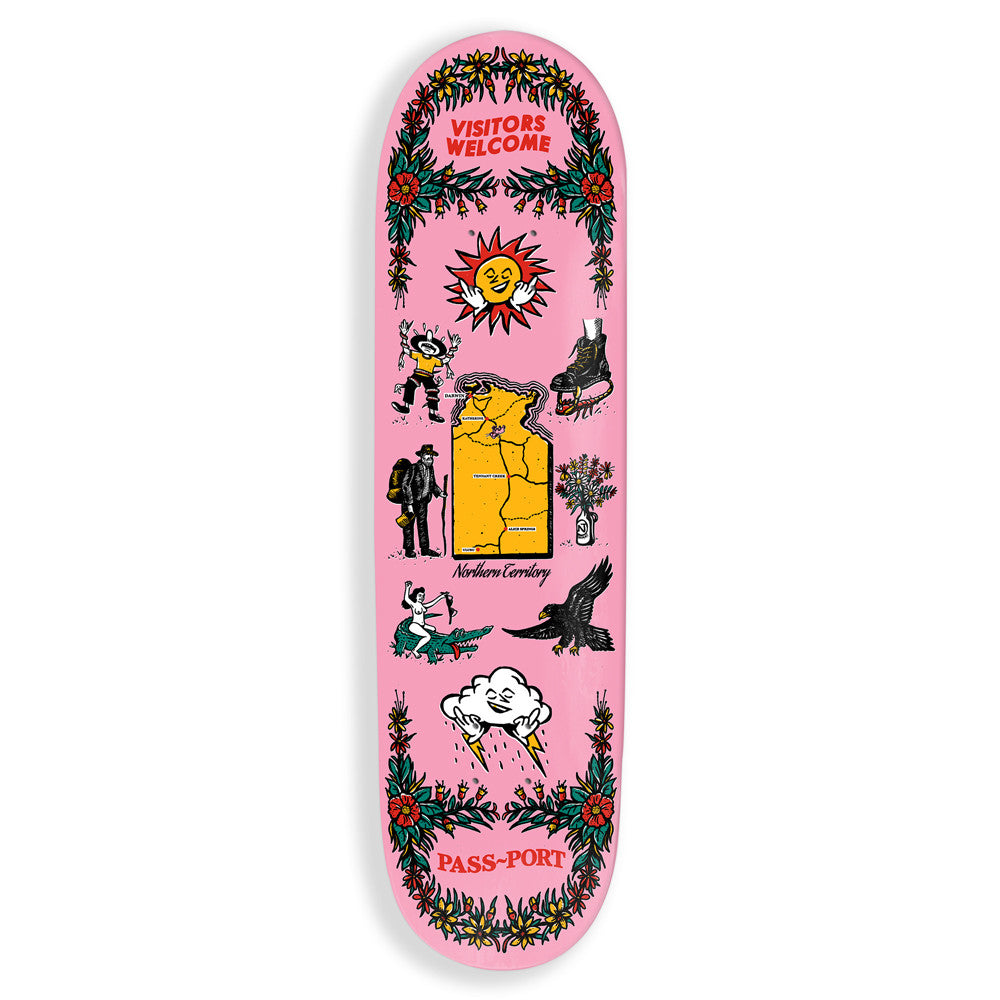 Pass Port Northern Tea Towels Skateboard Deck