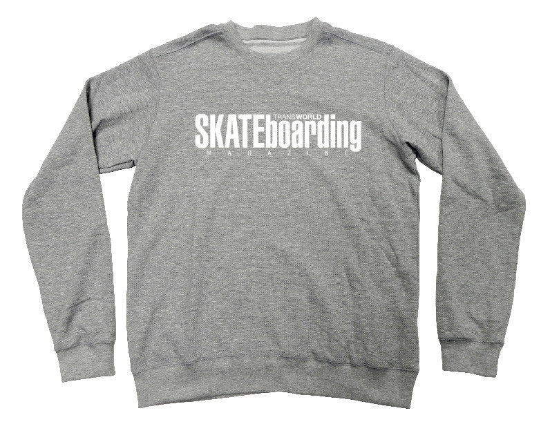 TransWorld Classic Magazine Crew Neck - Grey