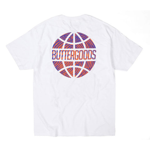 Butter Worldwide Suspect Logo Tee - White