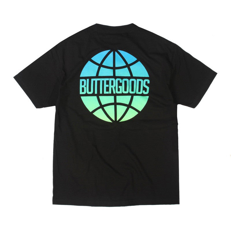 Butter Worldwide Lagoon Logo Tee - Black