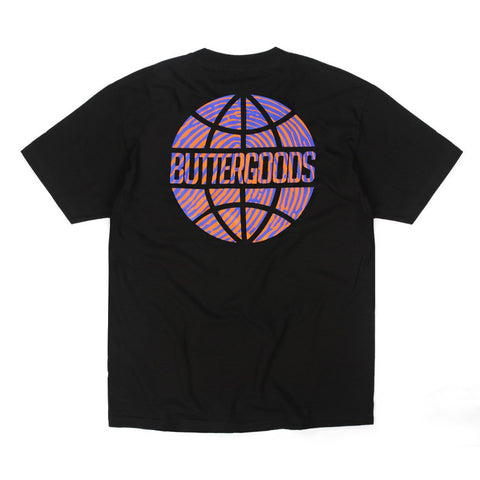 Butter Worldwide Suspect Logo Tee - Black