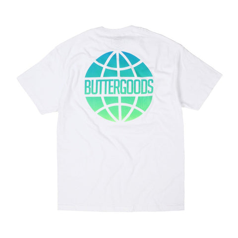 Butter Worldwide Lagoon Logo Tee - White