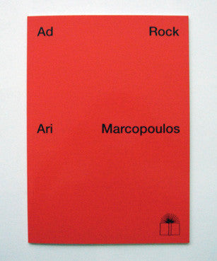 Ari Marcopoulos - Ad Rock Book (Nieves Publishing)