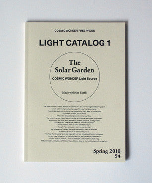 "The Free Press Cosmic Wonder ""Light Catalog 1"" (Nieves)"
