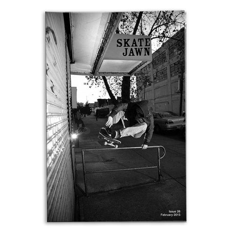 Skate Jawn Zine Issue 26