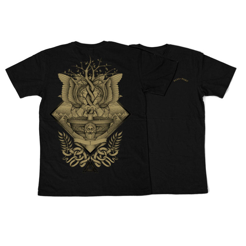 Passport Alchemy Slim Fit Tee - Black