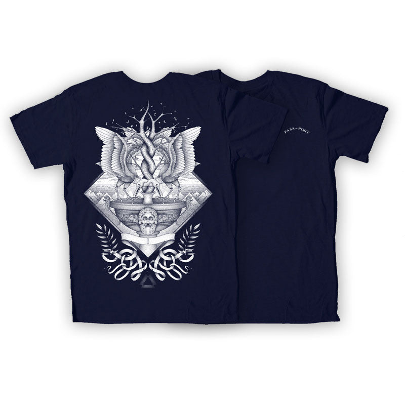 Passport Alchemy Slim Fit Tee - Navy