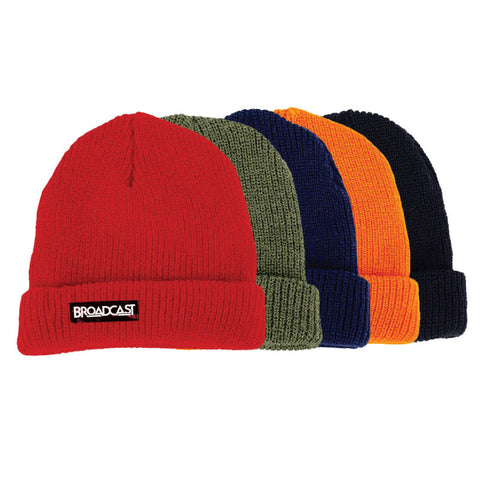 Broadcast Watchcap Beanie