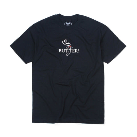 Butter Goods Bistro T-shirt - Navy