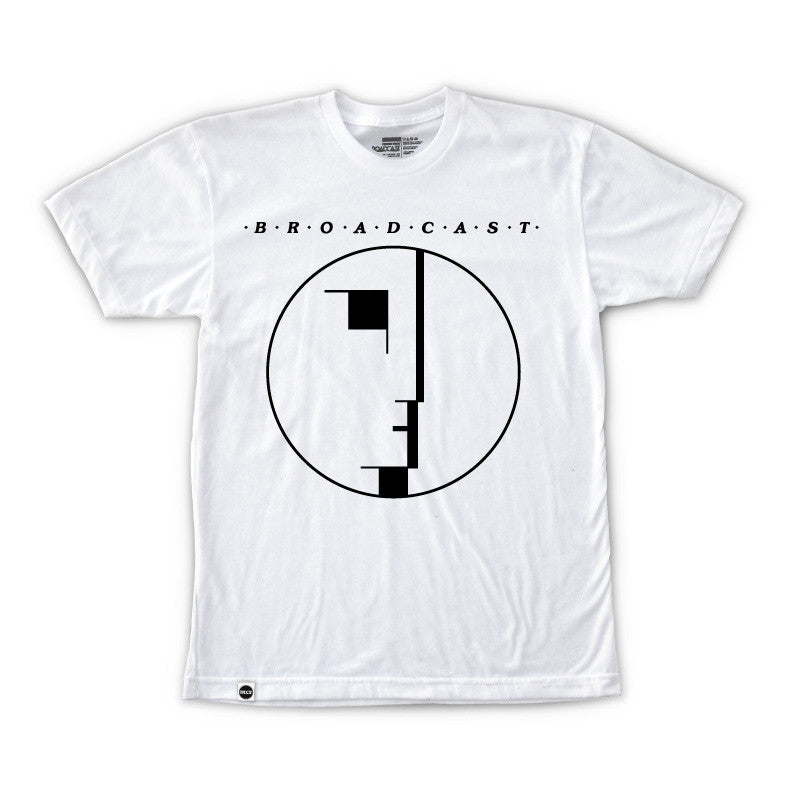 Broadcast Stick In The Eye Tee (White)